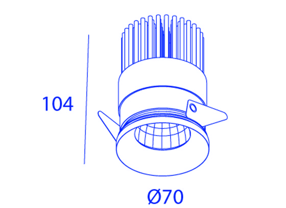 EDGELINE UP 2X QR111 ≤ 50W di Orbit