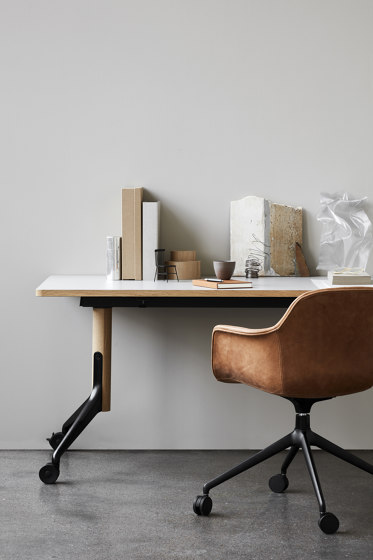 Woodstock Meeting Table by ICONS OF DENMARK