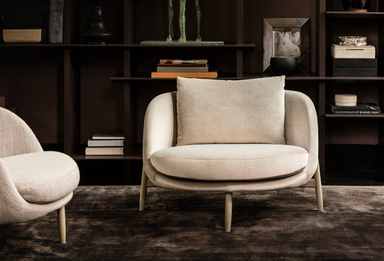 Heath armchair Large by Linteloo