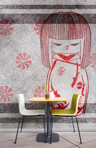Kokeshi doll de WallPepper