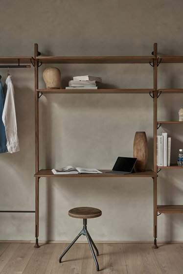 Theo Wall Unit With Bar Counter by District Eight