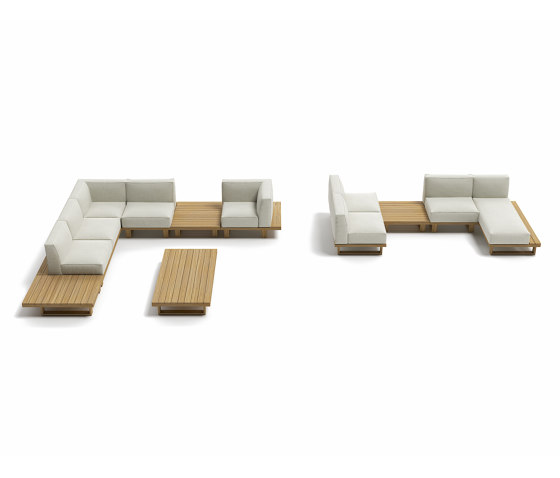 9.ZERO Modular Sofa Central 3S by Atmosphera