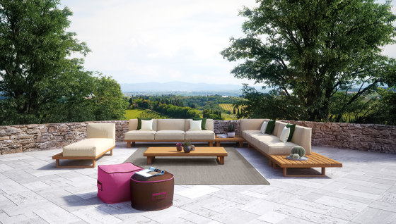 9.ZERO Modular Sofa Central 3S von Atmosphera