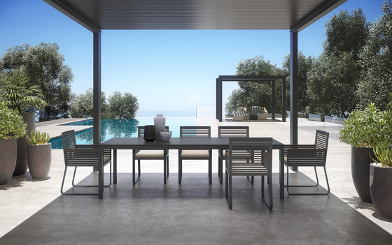 Flair (R 200) Rectangular Table by Atmosphera