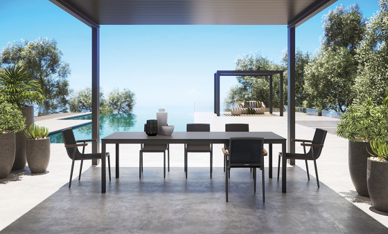 Flair (Q 155) Square Table by Atmosphera