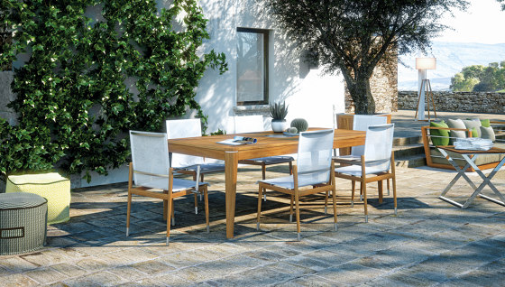 Legend Rectangular Table by Atmosphera