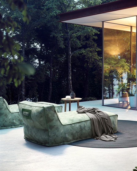 Soft Modular Sofa Central Module by Atmosphera