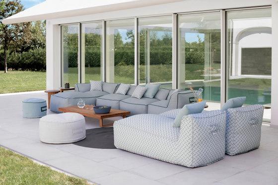 Soft Modular Sofa Central Module 2 seats by Atmosphera