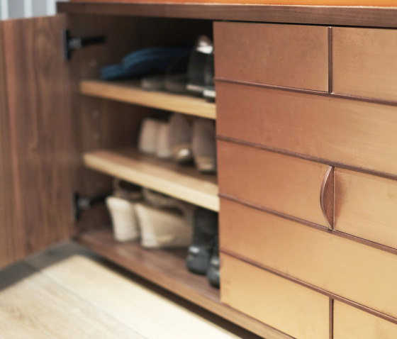 Craig Shoes Cabinet With Soft Seat by Ivar London