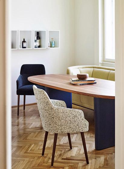 Merwyn Chair di Wittmann