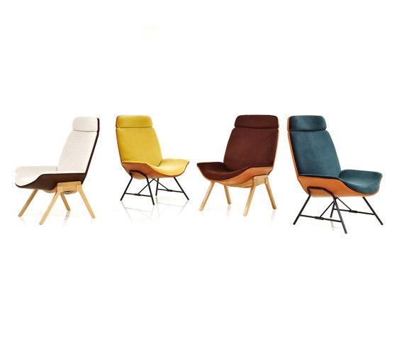 Melange Loungechair di Wittmann