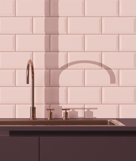 Interni Bisello Granata by Ceramica Vogue