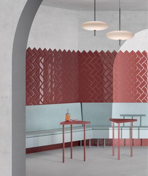 Trasparenze Bisello Nero von Ceramica Vogue