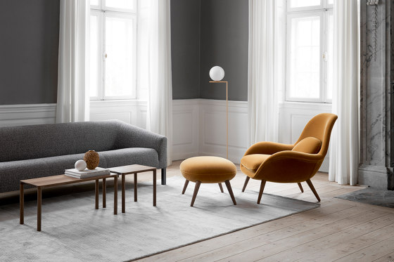 Kile Sofa 2-seat by Fredericia Furniture
