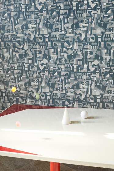 Utopia Ascending   Ink wallpaper by Petite Friture