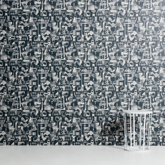 Utopia Ascending | Cream wallpaper di Petite Friture