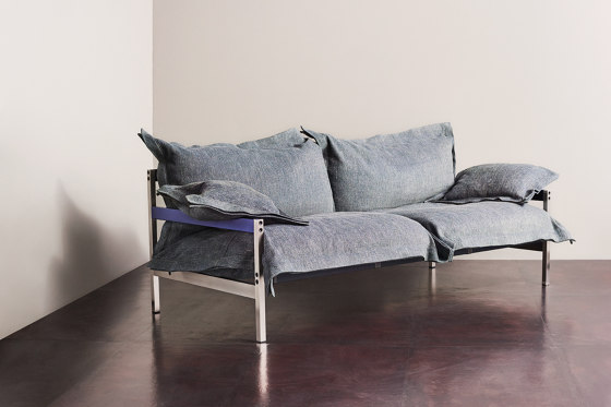 Iron Maiden Sofa by Diesel with Moroso