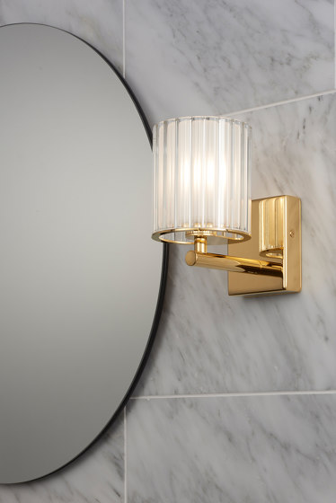 Pod Table Light polished gold de Tom Kirk Lighting
