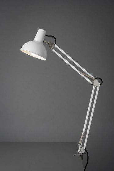 Spring Balanced Lamp | Clamp | White by Midgard Licht