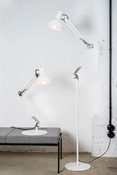 Spring Balanced Lamp⎜floor | white de Midgard Licht