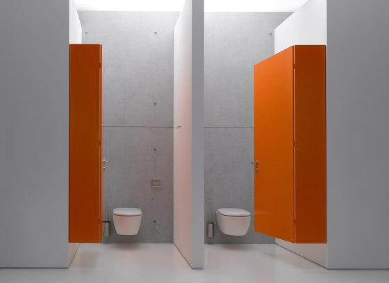 Toilet roll holder chrome | 900.21.00040 de HEWI