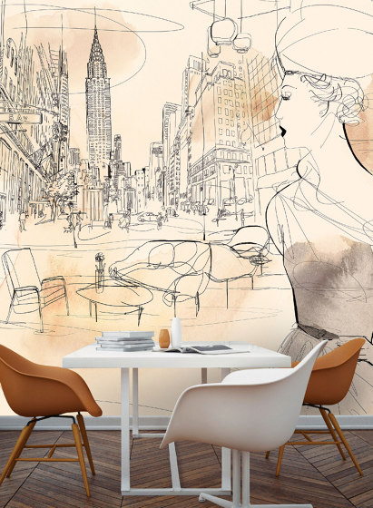 NYC interior and fashion de WallPepper