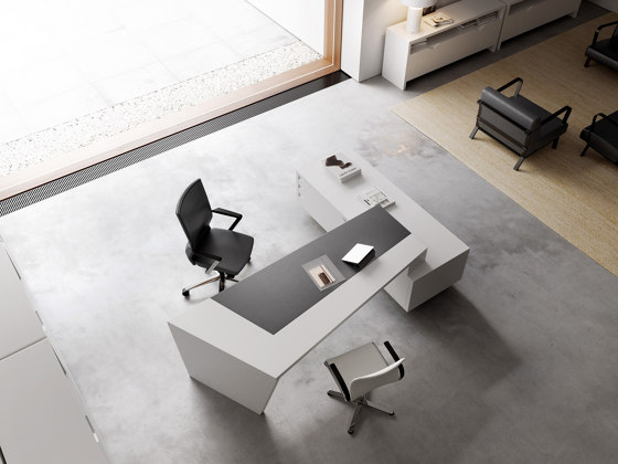 Origami Executive Desk Dark de Guialmi