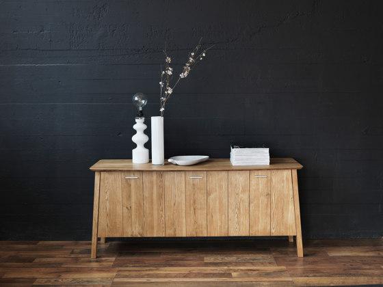Verona table ellipse 160(48+48)x102cm oak oiled di Hans K
