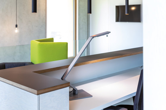 TABLE LINEAR aluminium de LUCTRA
