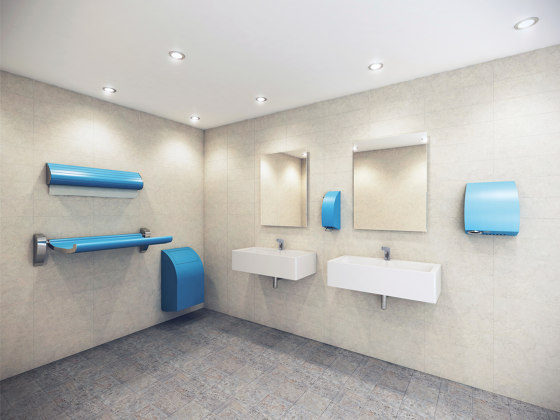 SteelTec paper towel dispenser DESIGN de CONTI+