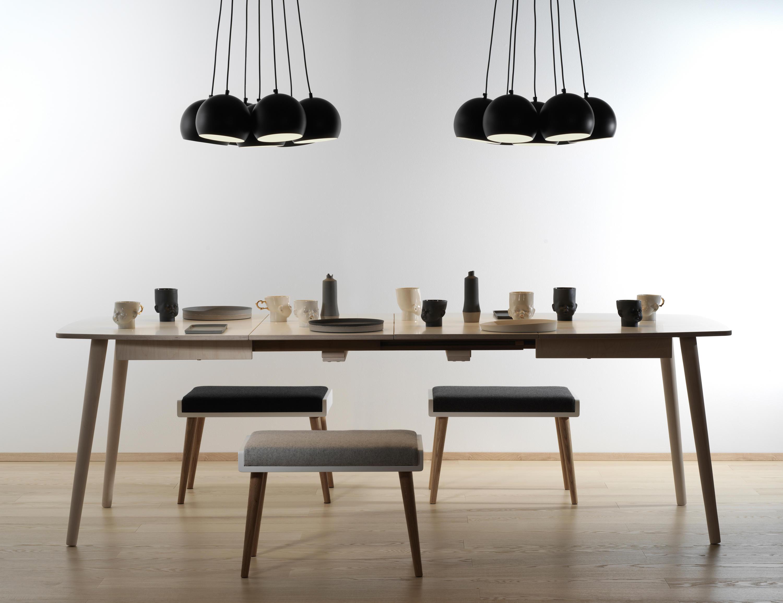 ... Extendable Dinner Table NAM NAM 96x144/244 By Radis Furniture