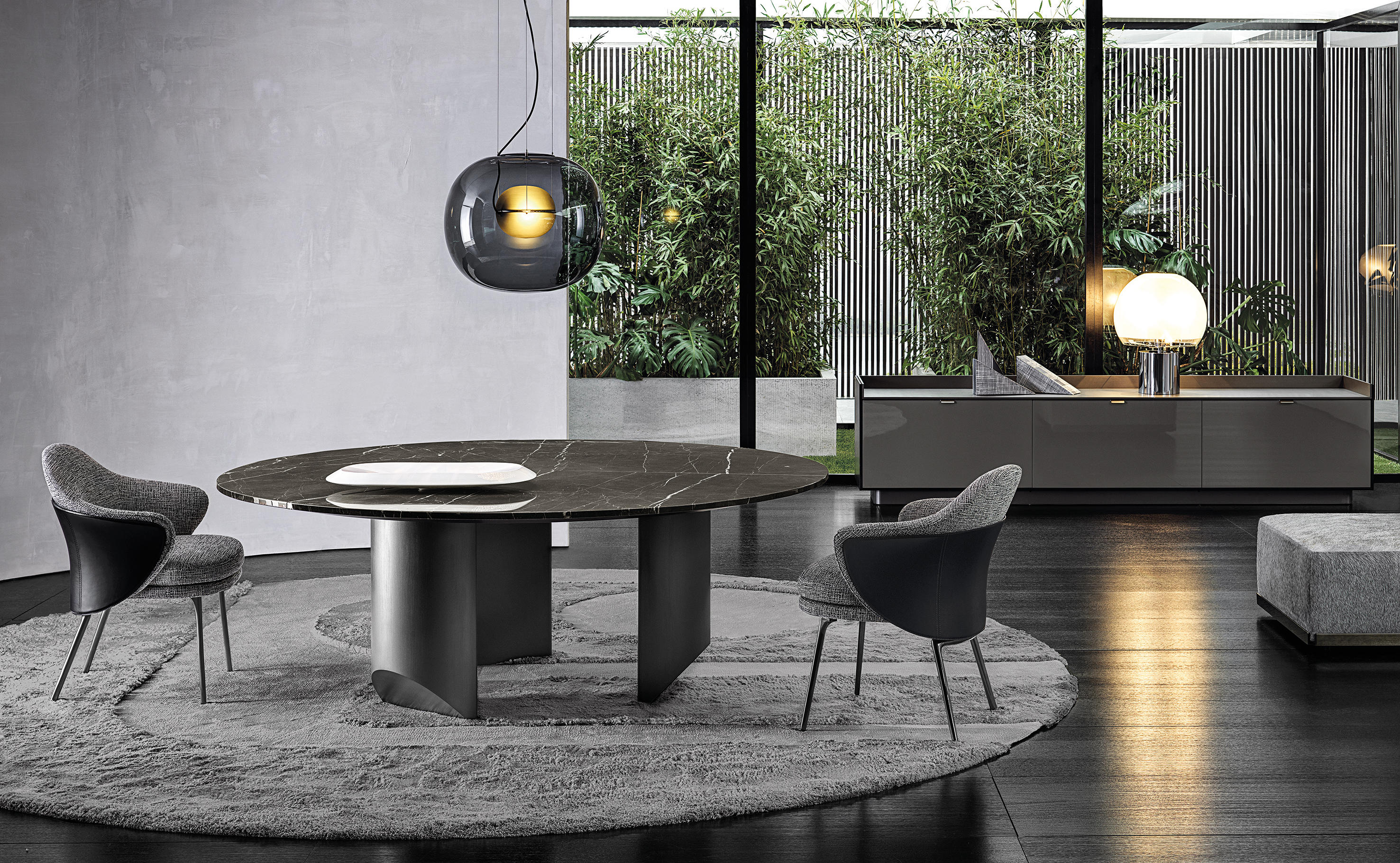 Wedge Table Dining Tables From Minotti Architonic