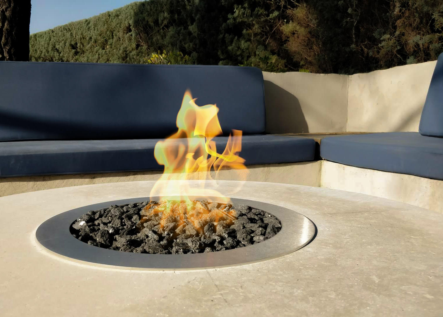Galio Fire Pit Insert Architonic