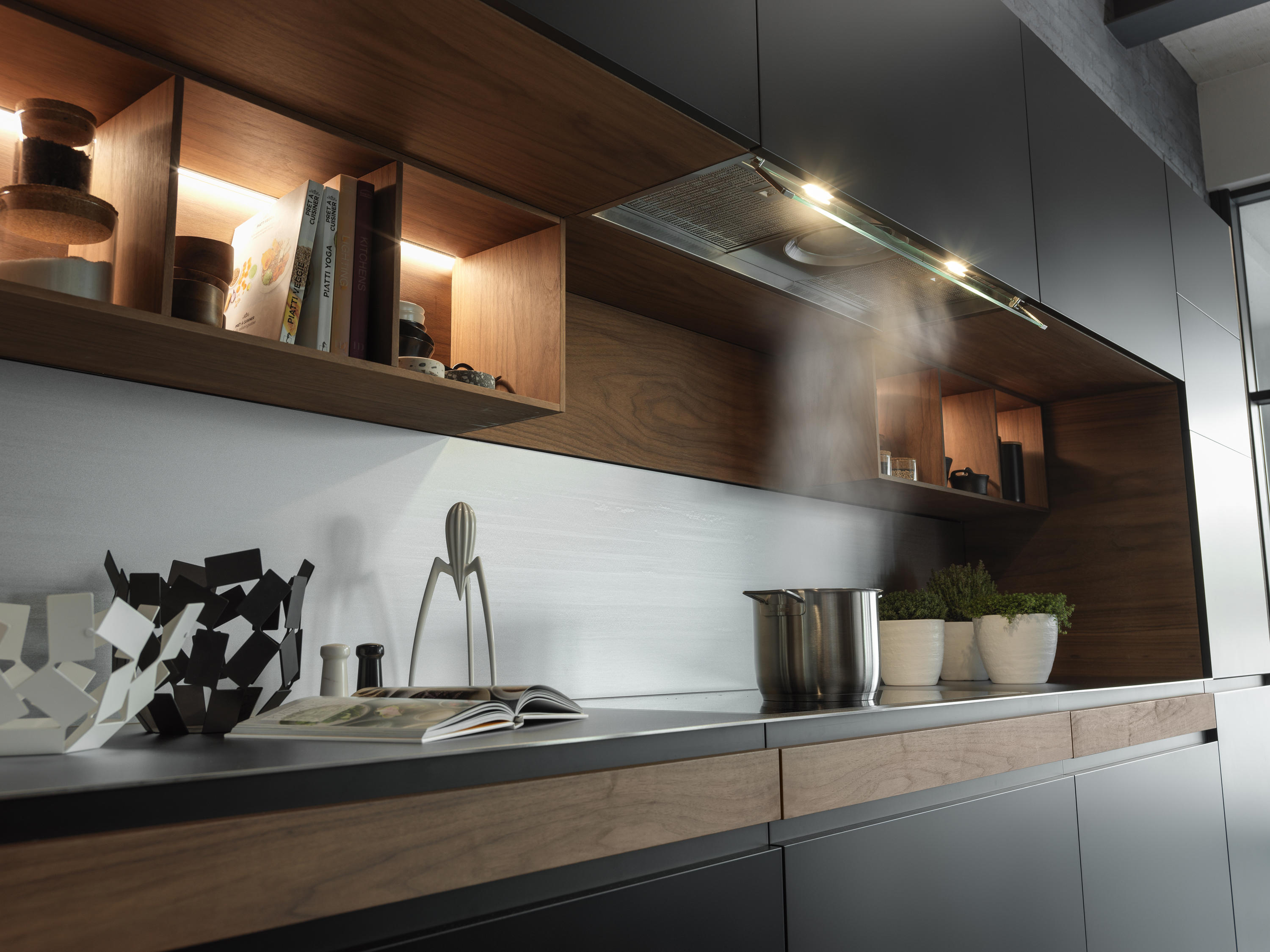 Built in ATMOS Hood Atmos 19 Stainless Steel  Architonic