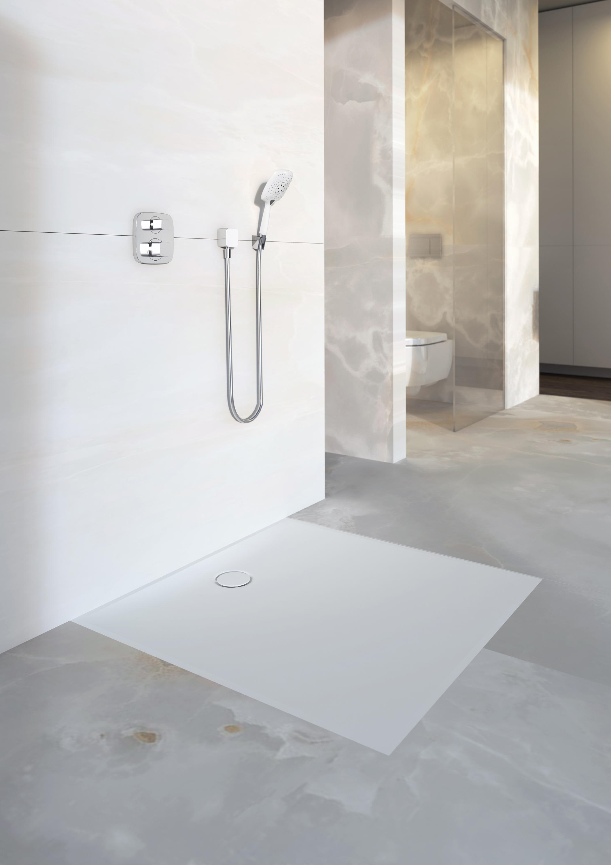 Floor Even Shower Solutions Design Grating Circle For Floor Drains Architonic