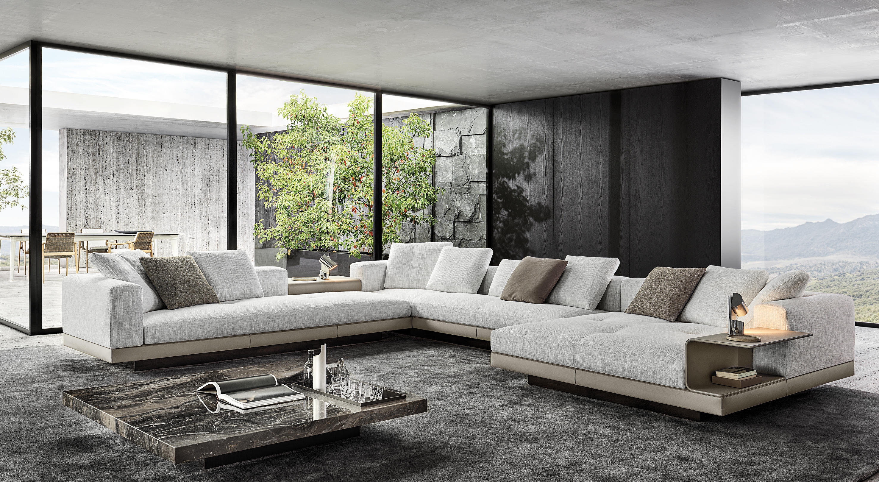 Connery Sofas From Minotti Architonic