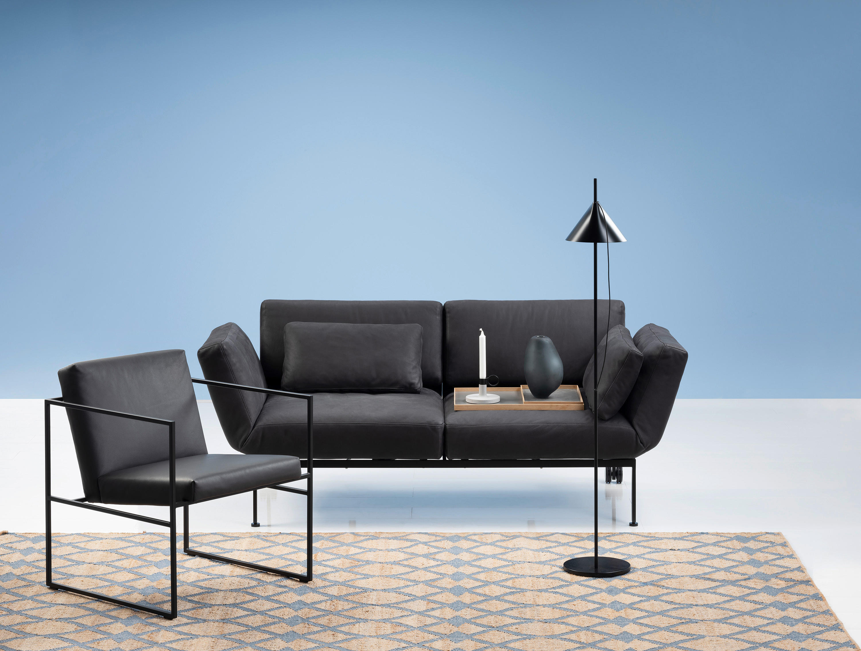 roro small sofas from br hl architonic. Black Bedroom Furniture Sets. Home Design Ideas