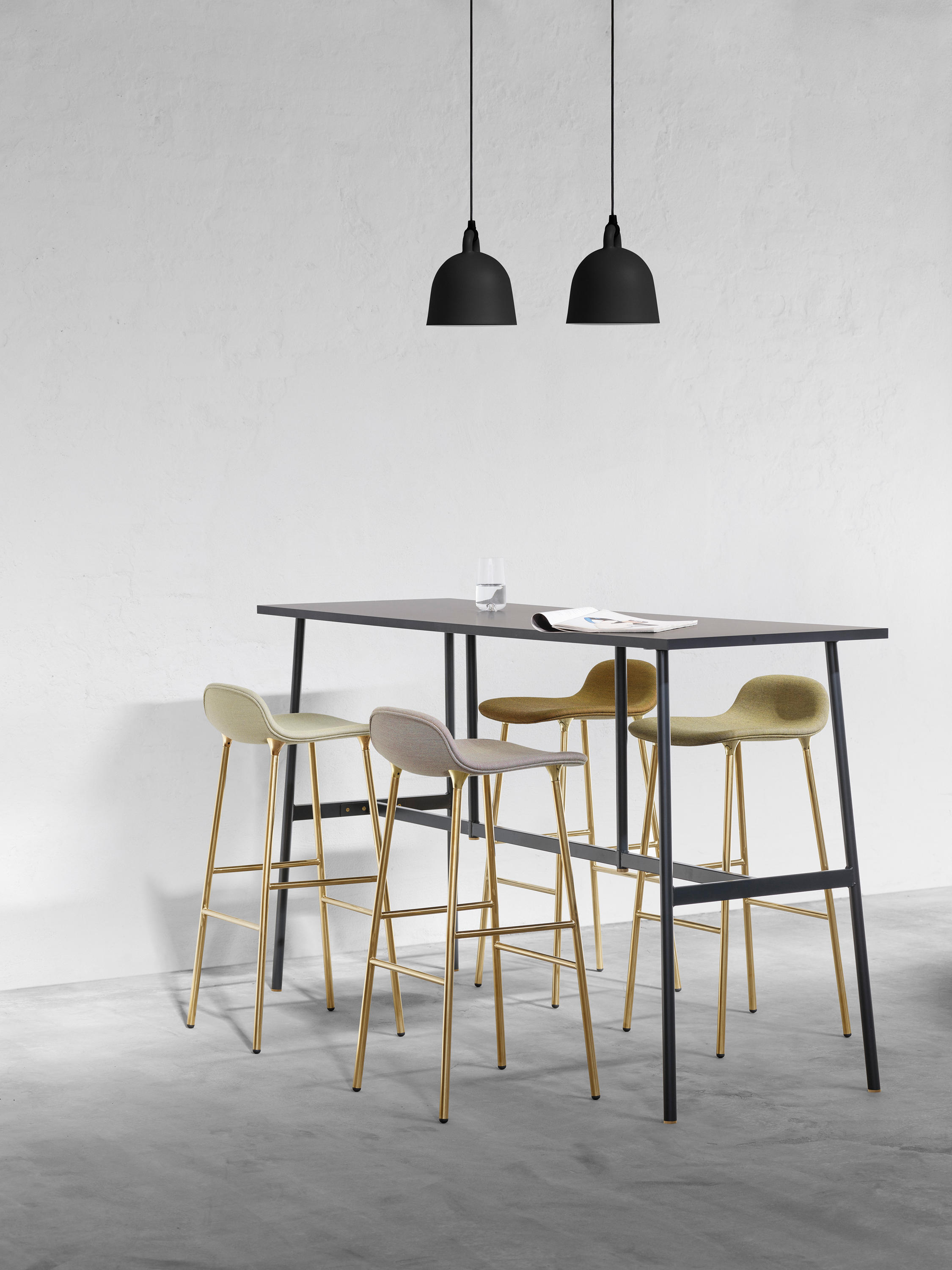 Bell Large Suspended Lights From Normann Copenhagen Architonic