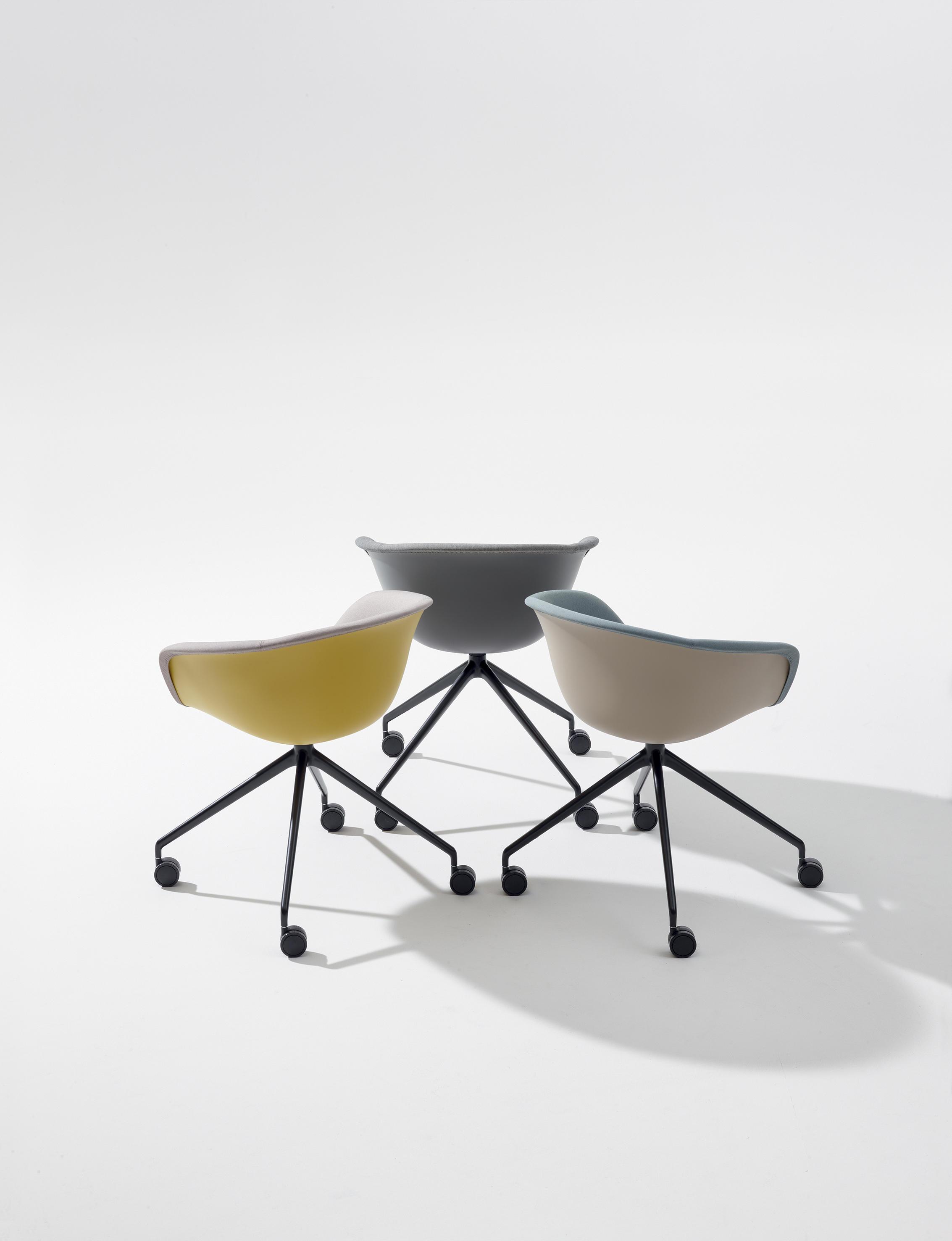 Fine Duna 02 Chairs From Arper Architonic Machost Co Dining Chair Design Ideas Machostcouk