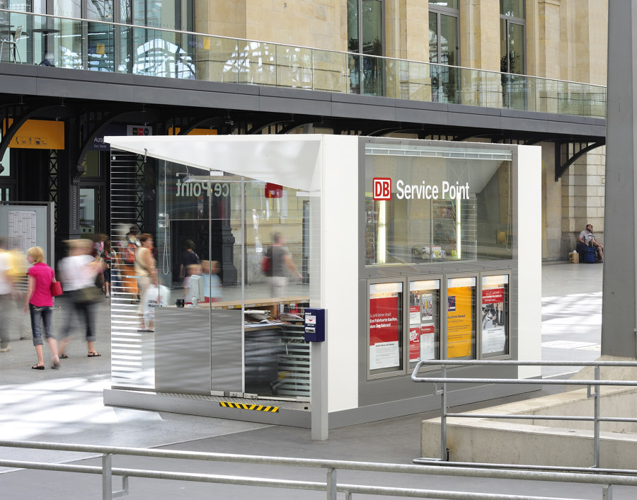 Deutsche Bahn Service Point by unit-design | Prototypes
