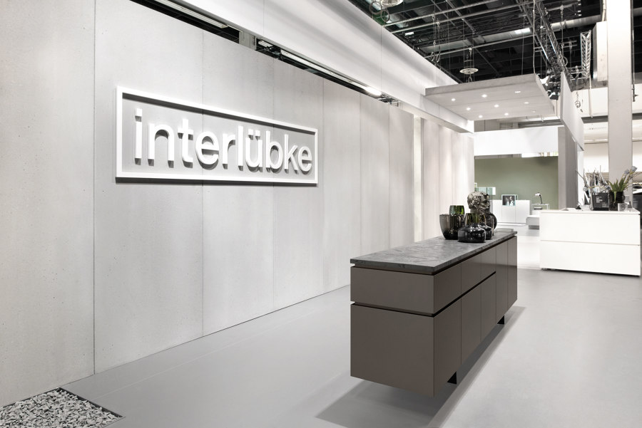 Interlübke by of-stone | Trade fair stands