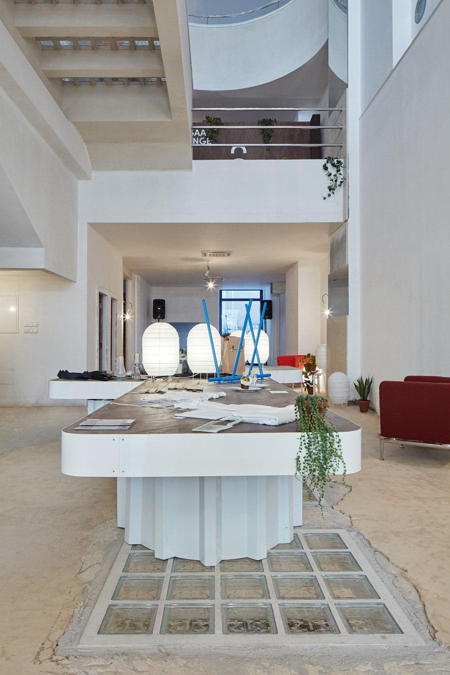 Kogaa Studio Turns Iconic Brno Functionalist Hotel Into Design Festival Venue by KOGAA Studio | Temporary structures