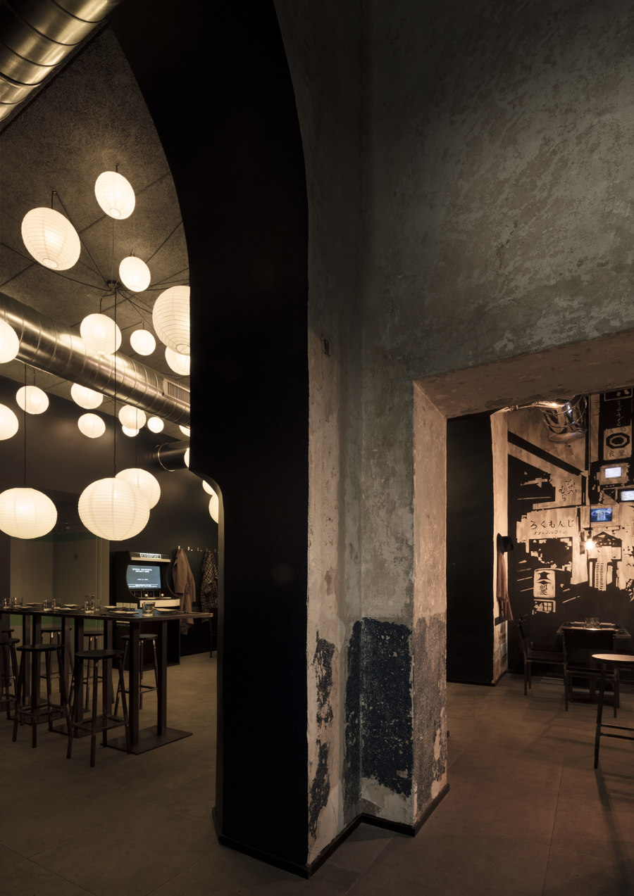 Kanpai by Vudafieri-Saverino Partners | Café interiors