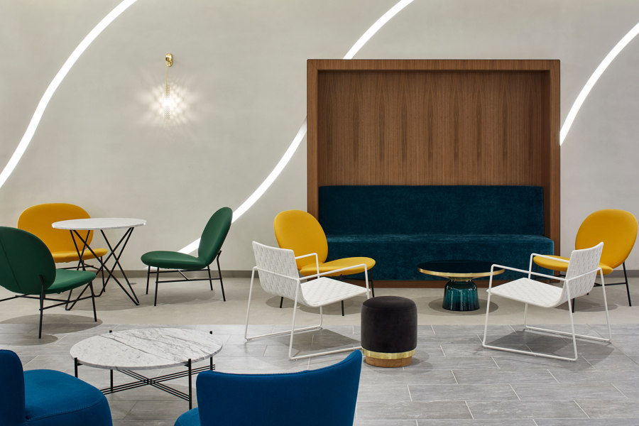 L'Oreal Offices by Tacchini Italia | Manufacturer references
