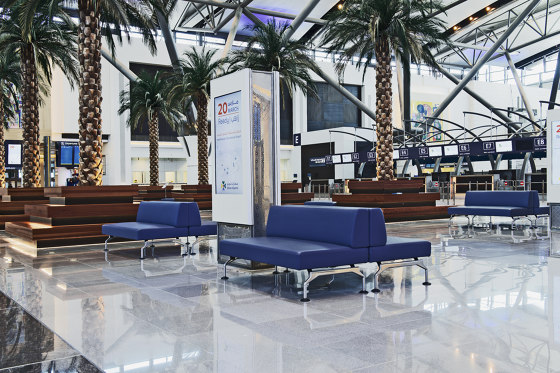 Muscat International Airport by Tacchini Italia | Manufacturer references