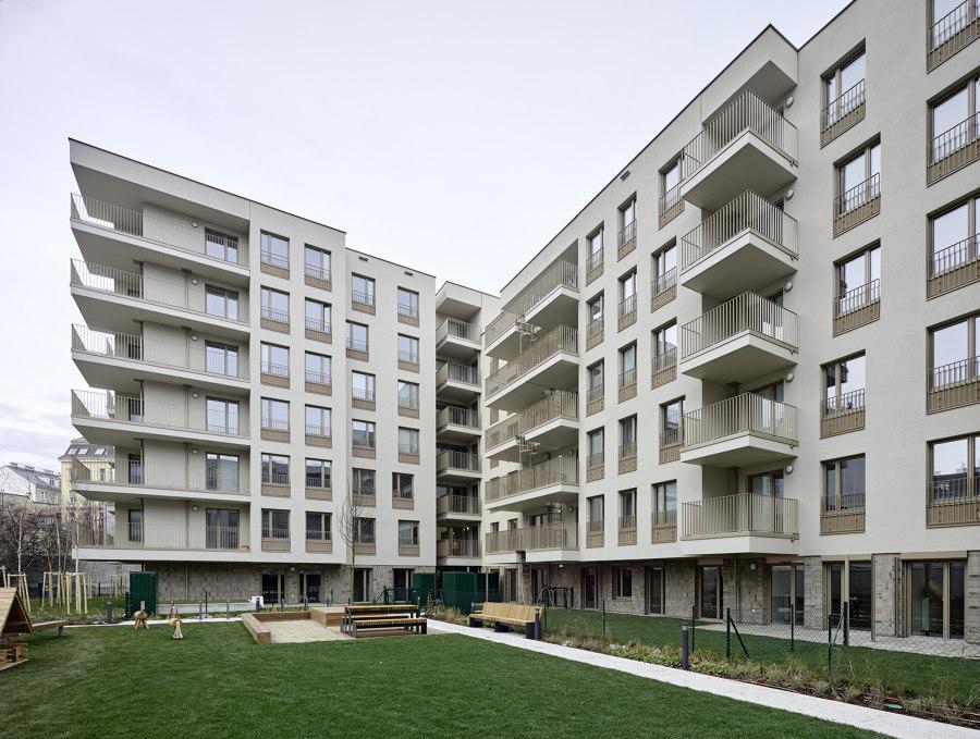 "Residential Complex LAENDYARD, Erdberger Lände 26 ""South"" by BEHF Architects   Apartment blocks"