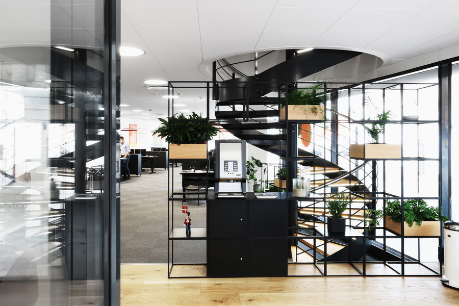 Bank Sparekassen Thy by GRID System APS | Manufacturer references