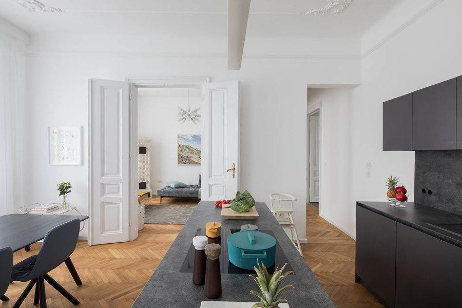 Apartment B von destilat | Wohnräume