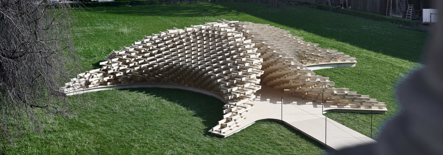 Future Space Pavilion by Peter Pichler Architecture   Installations