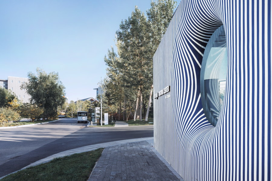 Striped House by Wutopia Lab |
